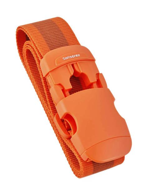 Sangle à Bagage Samsonite Orange accessoires C01056
