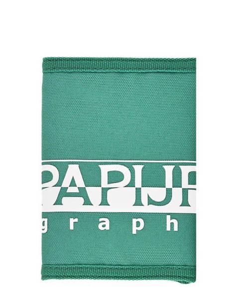 Portefeuille Napapijri Vert geographic NOYIOK vue secondaire 2