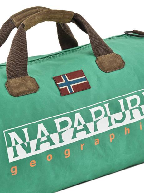 Cabin Dufflebag Bering Napapijri Green bering NOYGOR other view 1