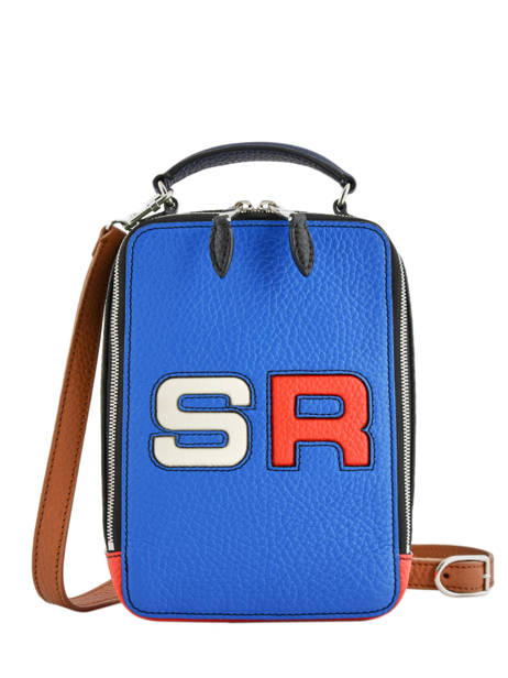 Crossbody Bag Le Pavé Logo Leather Sonia rykiel Multicolor le pave 4300-48