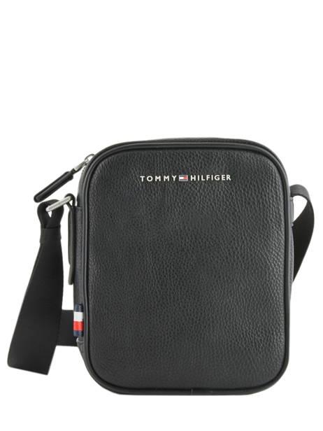 Crossbody Bag Tommy hilfiger Black downtown AM04454