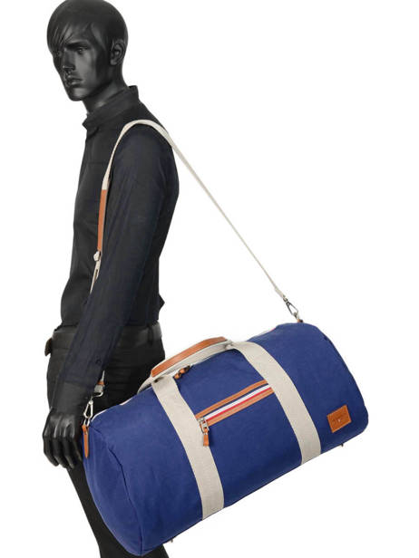 Sac De Voyage Cabine Atleta Serge blanco Bleu atleta ALT13014 vue secondaire 2