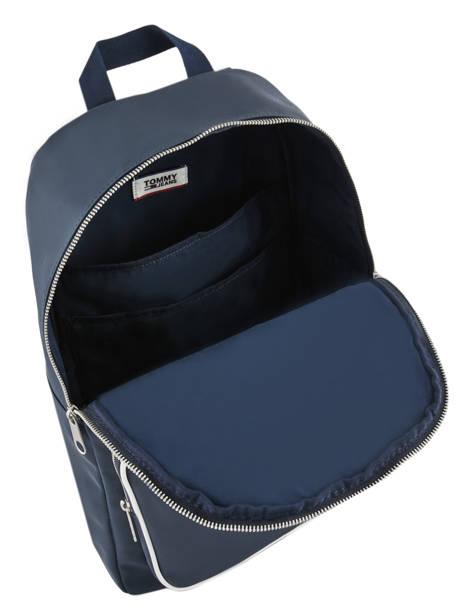 Sac à Dos Tommy Jeans Tommy hilfiger Bleu tjm modern AM04411 vue secondaire 5