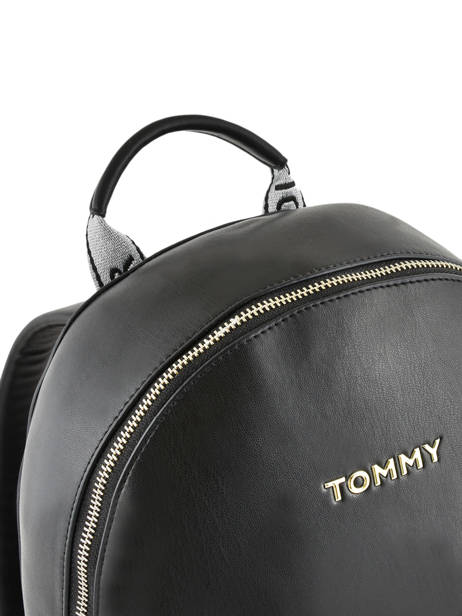 Sac à Dos Iconic Tommy Tommy hilfiger Noir iconic tommy AW06404 vue secondaire 2