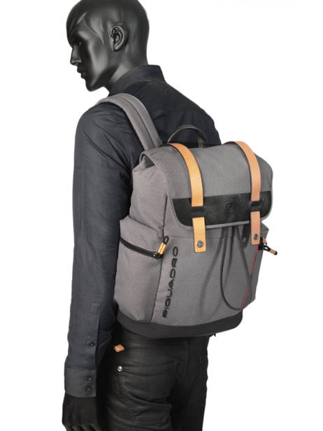 Messenger Bag Piquadro Gray blade CA4535BL other view 2