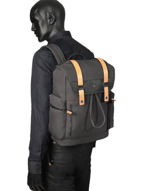 Messenger Bag Piquadro Black blade CA4535BL other view 2