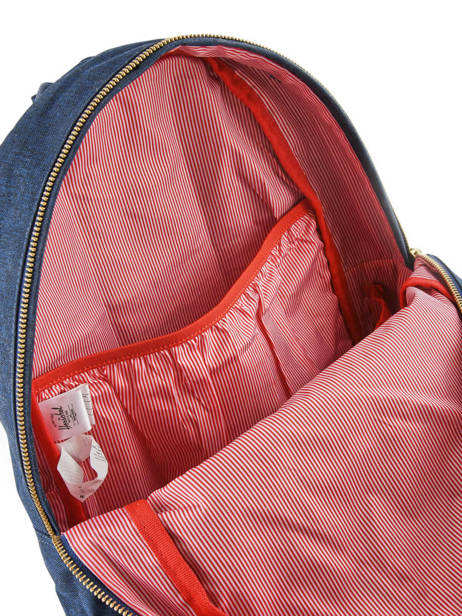 Backpack 1 Compartment + 13'' Pc Herschel Blue classics 10005 other view 4