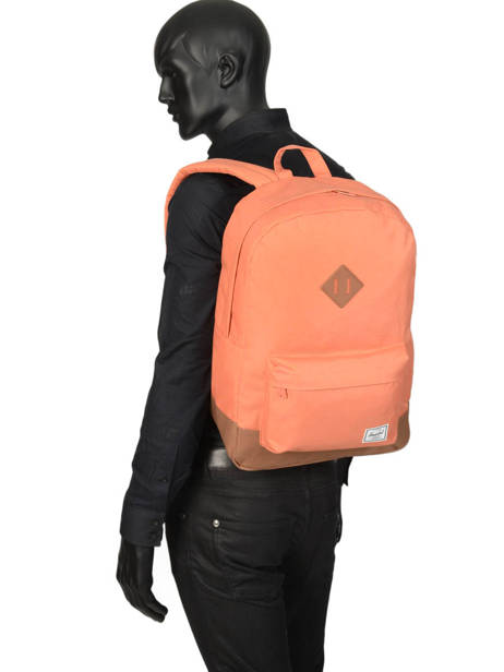 Backpack 1 Compartment + 15'' Pc Herschel Orange classics 10007 other view 2