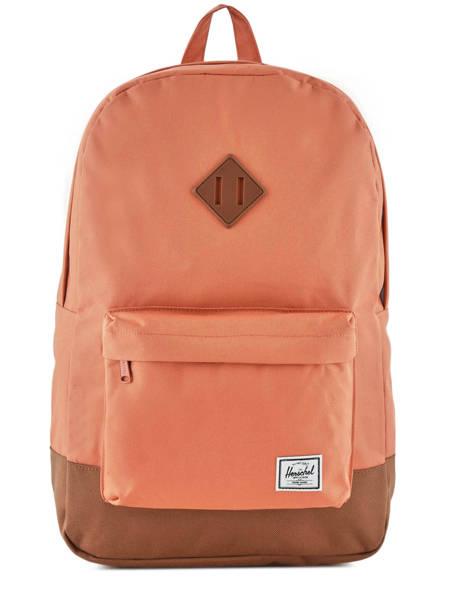 Backpack 1 Compartment + 15'' Pc Herschel Orange classics 10007