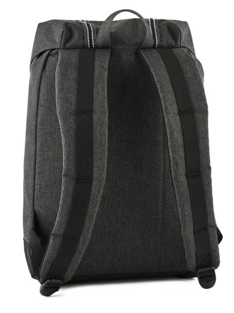 Backpack 1 Compartment Herschel Black offset 10066-O other view 3