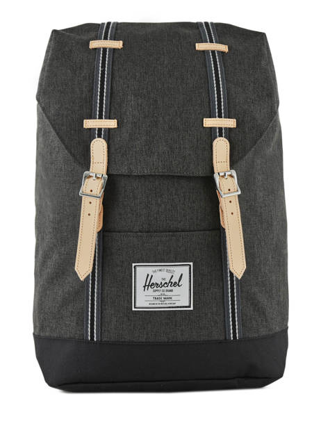 Backpack 1 Compartment Herschel Black offset 10066-O