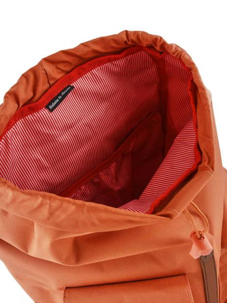 Sac à Dos 1 Compartiment + Pc 15'' Herschel Orange classics 10233 vue secondaire 4