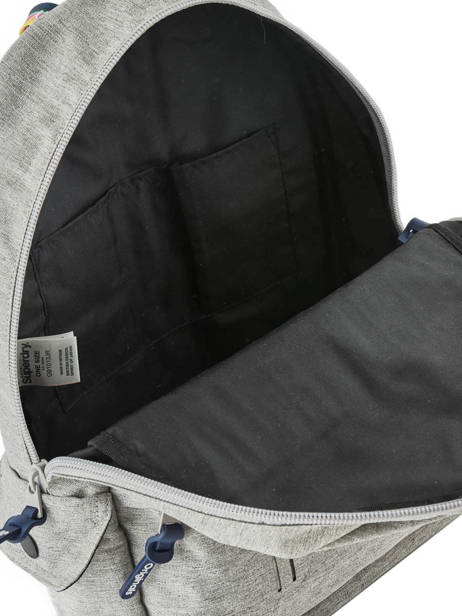 Backpack 1 Compartment Superdry Gray backpack men G91013JR other view 4