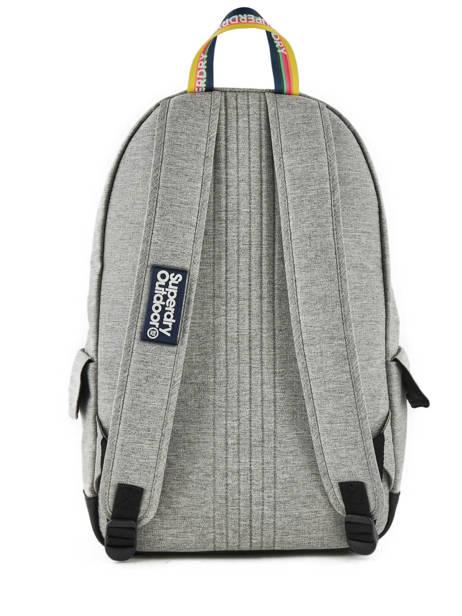 Backpack 1 Compartment Superdry Gray backpack men G91013JR other view 3