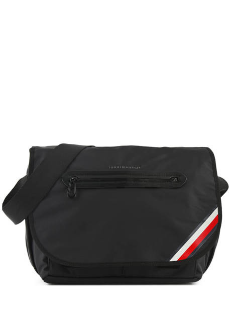 Besace Business Tommy hilfiger Noir easy nylon AM03591