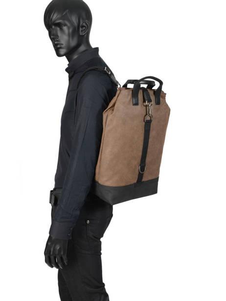 Backpack Journey Hexagona Brown journey 936024 other view 2