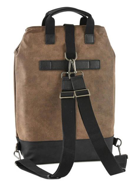 Backpack Journey Hexagona Brown journey 936024 other view 3