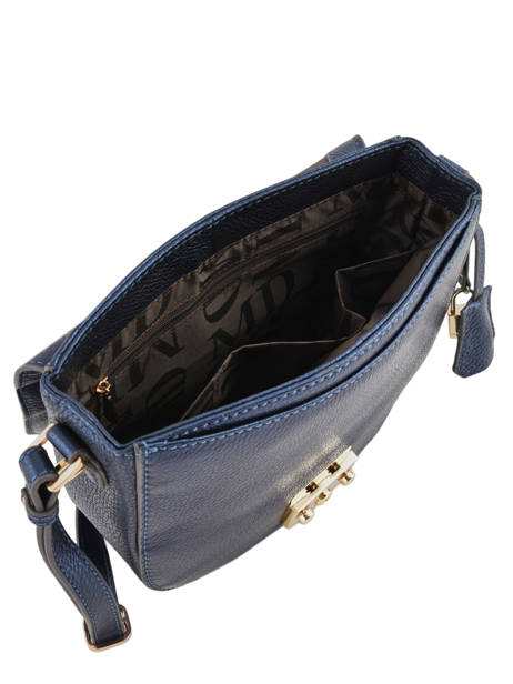 Leather Shoulder Bag Kimberley Mac douglas Blue romy KIMROM-M other view 5