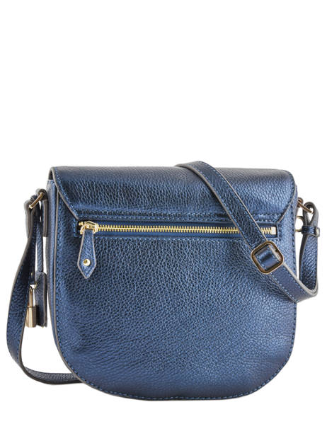 Leather Shoulder Bag Kimberley Mac douglas Blue romy KIMROM-M other view 4
