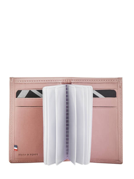Card Holder Leather Etrier Pink blanco 600013 other view 1