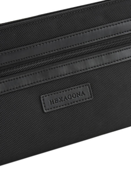 Fanny Pack Hexagona Black worker D72281 other view 1