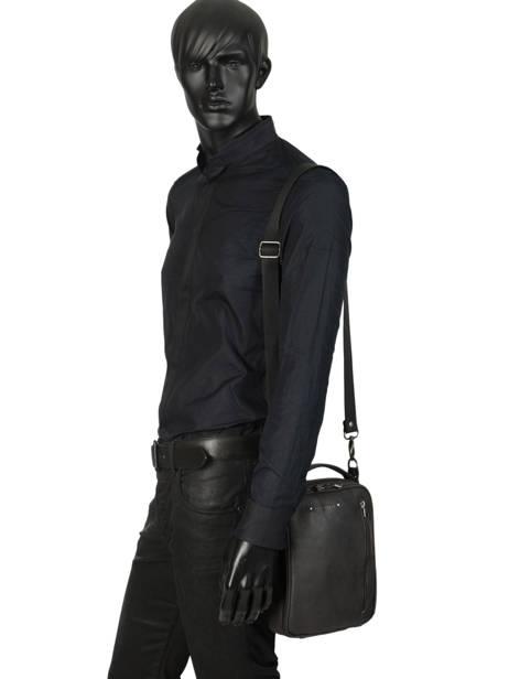 Messenger Bag Foures Black 9329 other view 2