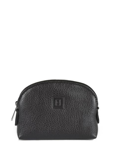 Purse Leather Hexagona Brown confort 460597