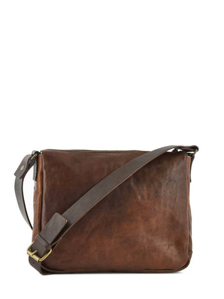 Crossbody Bag Chiarugi Brown street 52002 other view 3