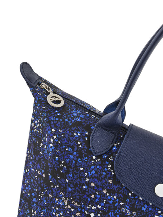 Longchamp Le pliage fleurs Hobo bag Blue