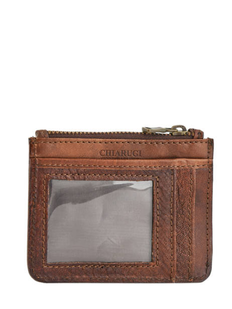 Leather Cardholder Tuscany Chiarugi Brown street 51094 other view 2
