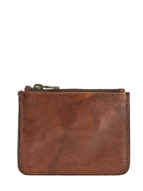 Leather Cardholder Tuscany Chiarugi Brown street 51094