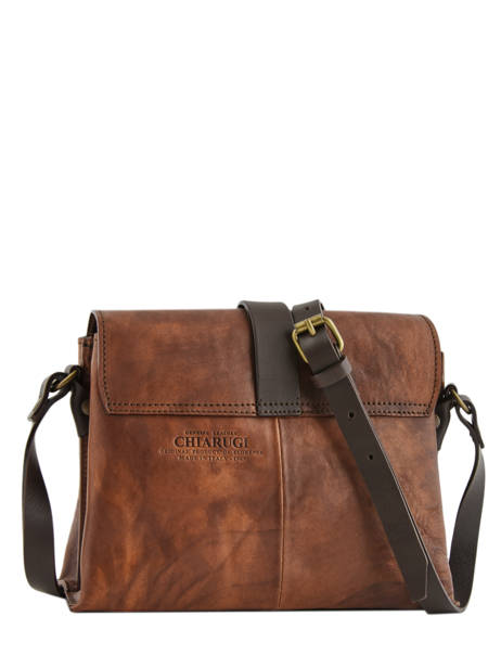 Crossbody Bag Tuscany Chiarugi Brown street 53016 other view 5
