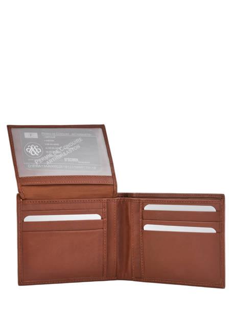 Wallet Leather Arthur et aston Brown louis 1954-242 other view 3