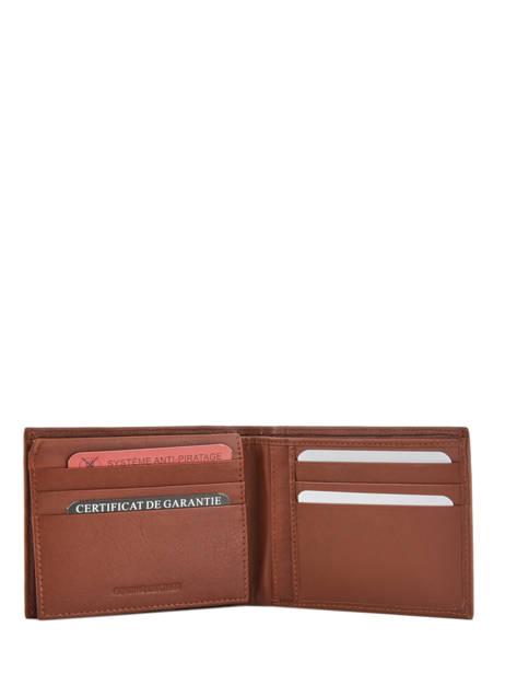 Wallet Leather Arthur et aston Brown louis 1954-242 other view 1