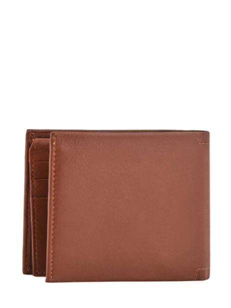 Wallet Leather Arthur et aston Brown louis 1954-242 other view 2