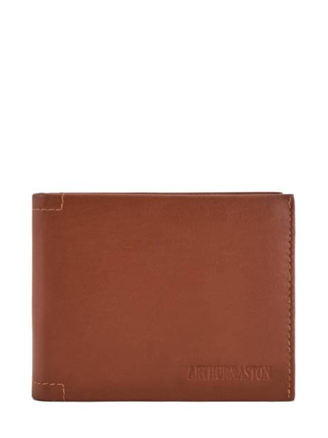 Wallet Leather Arthur et aston Brown louis 1954-242