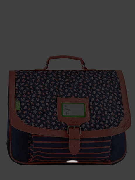 Satchel 2 Compartments Tann's Multicolor capsule 38324 other view 6