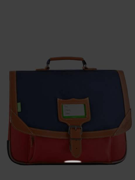 Satchel 2 Compartments Tann's Multicolor les bicolores 38121 other view 6