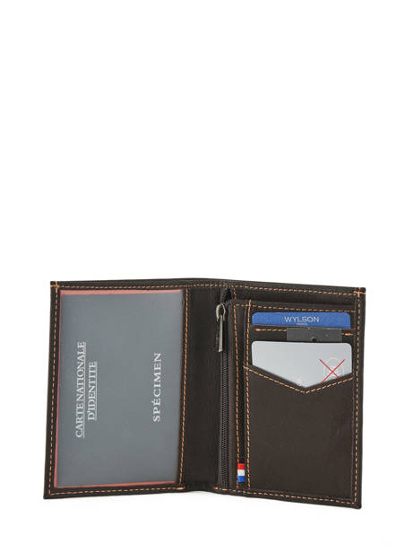Wallet Leather Wylson Brown rio W8190-14 other view 2