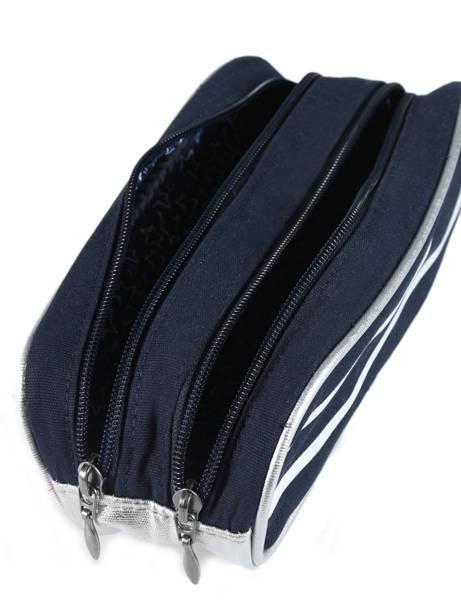 Trousse 2 Compartiments Ikks Bleu i love my mariniere 12821 vue secondaire 2