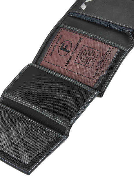 Wallet Leather Etrier Gray western 47466 other view 3
