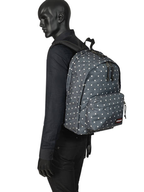 Backpack 2 Compartments + 14'' Pc Eastpak Black K936 other view 3