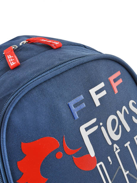 Backpack Federat. france football Blue equipe de france 193X201S other view 1