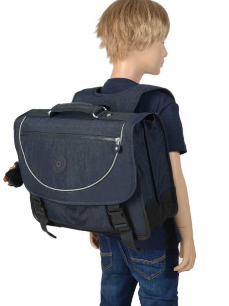 Cartable 2 Compartiments Kipling Bleu back to school 12074 vue secondaire 3