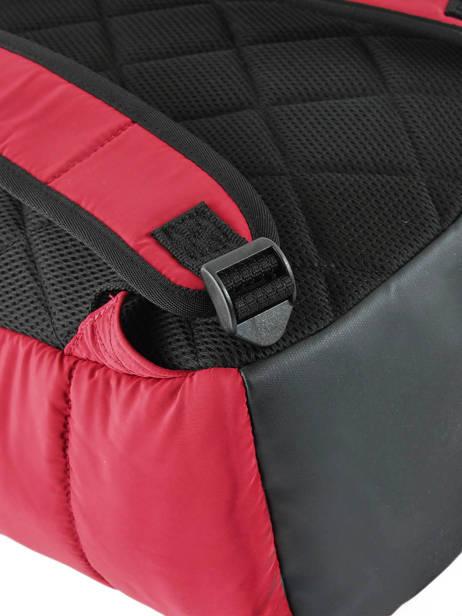 Sac à Dos 1 Compartiment Schott Rouge downbag 62714 vue secondaire 1