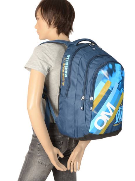 Backpack Olympique de marseille Blue droit au but 192O204I other view 3