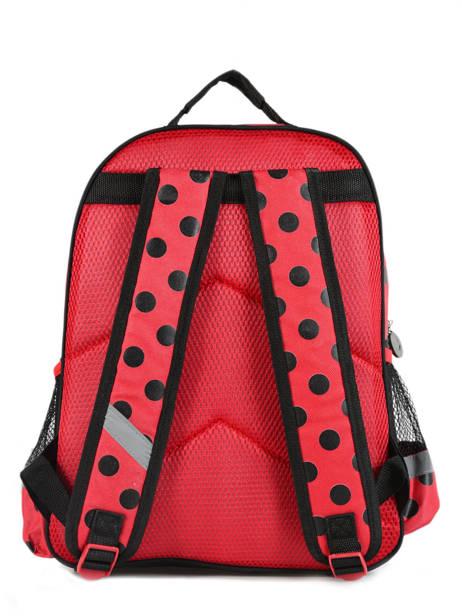 Sac à Dos 2 Compartiments Miraculous Rouge tales of ladybug 599840LB vue secondaire 2