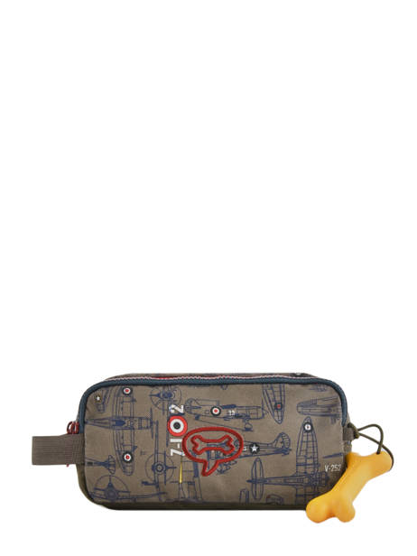 Trousse 3 Compartiments Stones and bones Multicolore boys ROWAN-B