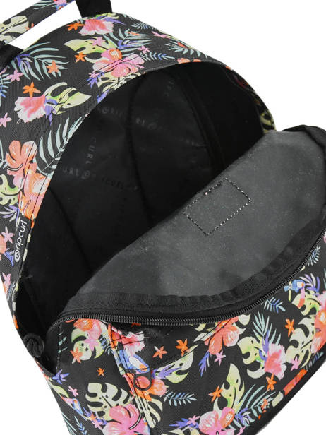 Sac à Dos Toucan Flora Rip curl Noir toucan flora LBPRC4 vue secondaire 4