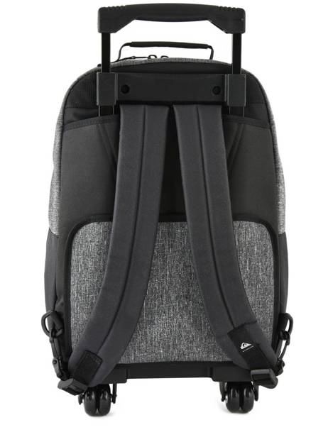Wheeled Backpack With Free Pencil Case Quiksilver Gray youth access kids QBBP3035 other view 3
